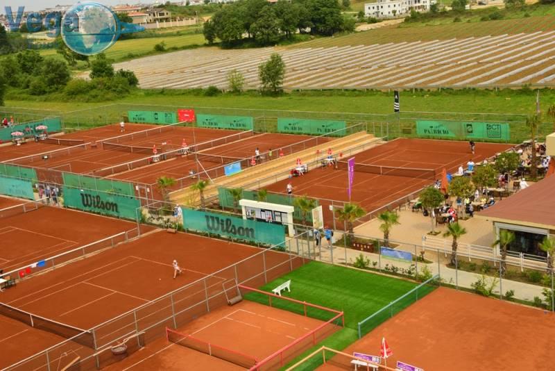 AliBey Resort Tennis Center Side Sorgun 48 courts viue 2
