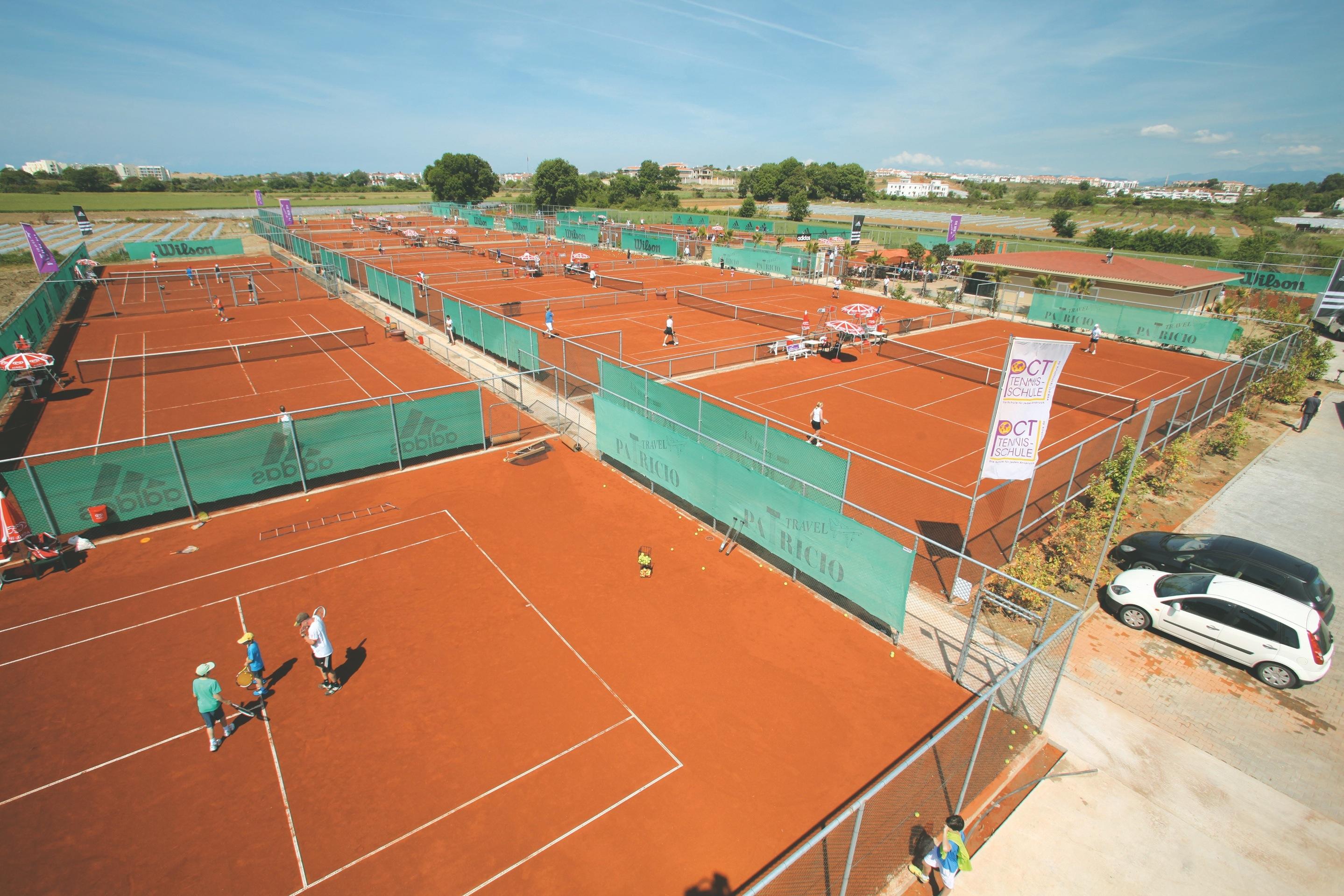 AliBey Resort Tennis Center Side Sorgun 48 courts viue 1